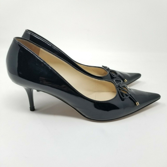 Jimmy Choo Shoes - Jimmy Choo Pointy Toe Pumps With Bow